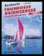Seekarte Thunersee, Brienzersee und Wohlensee