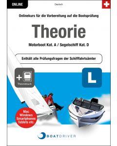 Box | BoatDriver - Theorie: Motorboot Kat. A / Segelschiff Kat. D + Theoriebuch (d)