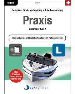 Box | BoatDriver - Praxis: Motorboot Kat. A + Praxisbuch (d)