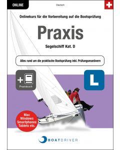 Box | BoatDriver - Praxis: Segelschiff Kat. D + Praxisbuch (d)