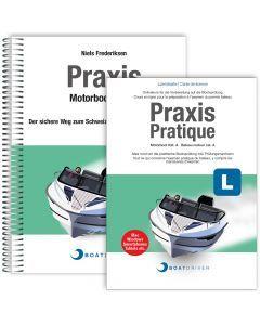 Lizenzkarte | BoatDriver - Praxis: Motorboot Kat. A + Buch (d)
