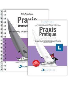 Lizenzkarte | BoatDriver - Praxis: Segelschiff Kat. D + Buch (d)