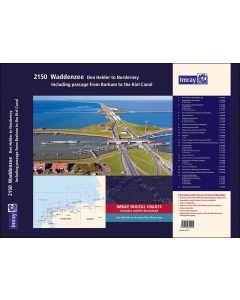 2150 Waddenzee - Den Helder to Norderney Chart Atlas 2021