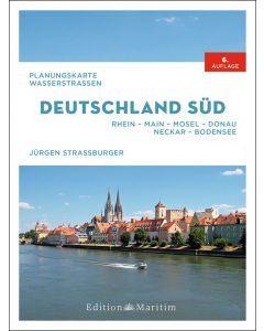 Planungskarte Wasserstrassen Deutschland Süd