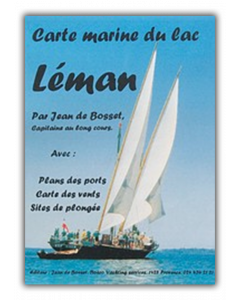 Carte marine Lac Léman
