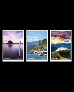 Carte marine Lac de Lugano, tableau informatif