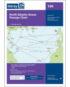Chart 100 North Atlantic Ocean Passage Chart