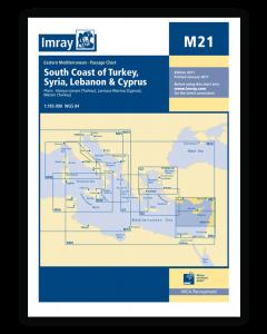 M21 South Coast of Turkey, Syria, Lebanon and Cyprus