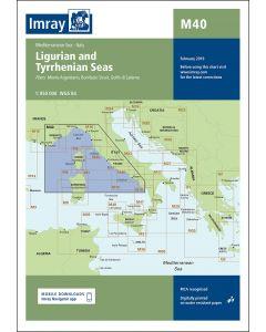 M40 Ligurian and Tyrrhenian Seas