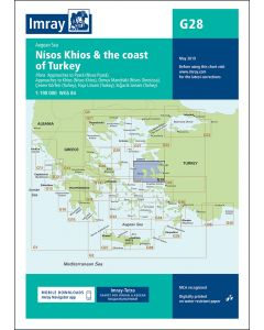 G28 Nísos Khíos & the Coast of Turkey