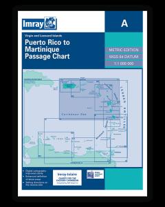 A Lesser Antilles: Puerto Rico to Martinique Passage Chart