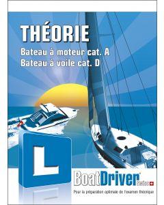 BoatDriver - THÉORIE cat. A/D (livre)