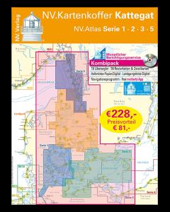 NV.Atlas Serie 1, 2, 3, 5: Kartenkoffer Kattegat 2018