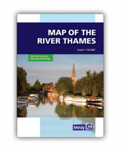 Map of the River Thames