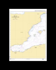 SHOM 7015 De Gibraltar aux îles Baléares