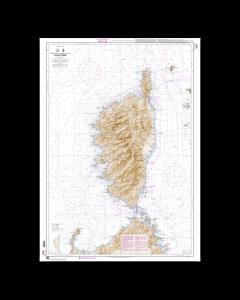 SHOM 7025 Ile de Corse (Korsika)