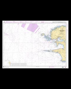 SHOM 7066 De l'Île Vierge à la Pointe de Penmarc'h - Abords de Brest
