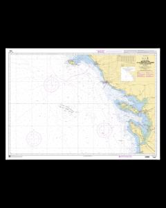 SHOM 7069 De l'île d'Yeu à la Pointe de la Coubre - Plateau de Rochebonne