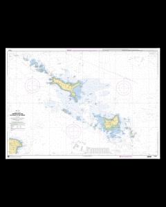 SHOM 7143 Abords des Iles de Houat et de Hoëdic