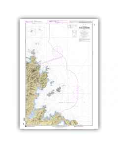 SHOM 7190 Golfe de Congianus - De Capo Ferro à Capo Figari