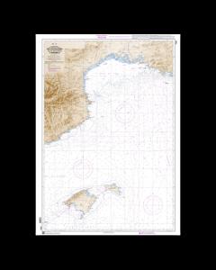 SHOM 7203L Des îles Baléares (Islas Baleares) à Marseille
