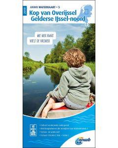 Waterkaart 5 - Kop van Overijssel / Gelderse Ijssel-Noord