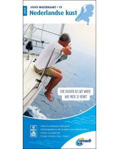 Waterkaart 19 - Nederlandse Kust