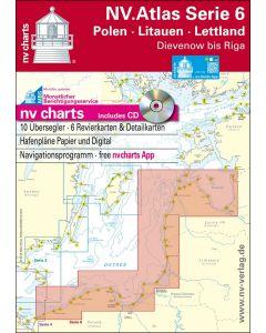 NV.Atlas Serie 6: Polen - Litauen - Lettland