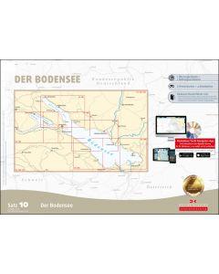 Sportbootkarten Satz 10: Bodensee (Ausgabe 2020)