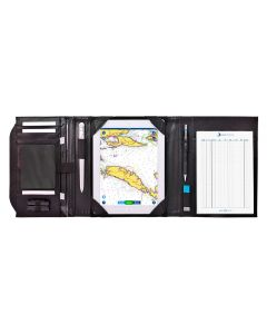Exklusive Skipper-Navigationsmappe A5 mit Tablet-Fach