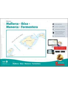 Sportbootkarten Satz 9: Balearen (Ausgabe 2020/2021)