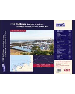 2150 Waddenzee - Den Helder to Norderney Chart Atlas 2020