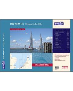 2120 North Sea - Nieuwpoort to Den Helder Chart Atlas 2020