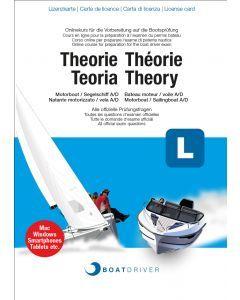 Lizenzkarte | BoatDriver - Theorie: Motorboot Kat. A / Segelschiff Kat. D (dfie)