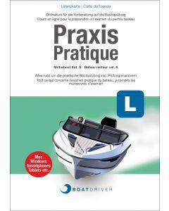 Lizenzkarte | BoatDriver - Praxis: Motorboot Kat. A (df)