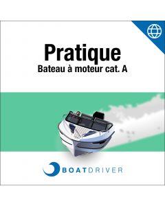 Online: BoatDriver - Pratique bateau à moteur cat. A (df)
