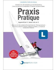 Lizenzkarte | BoatDriver - Praxis: Segelschiff Kat. D (df)