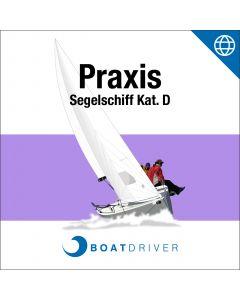 Online: BoatDriver - Praxis Segelschiff Kat. D (df)