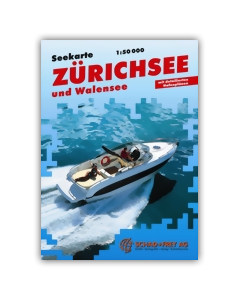 Carte Marine Zürichsee et Walensee