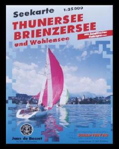 Carte marine Thunersee, Brienzersee et Wohlensee