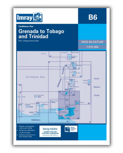B6 Grenada to Tobago and Trinidad Passage Chart