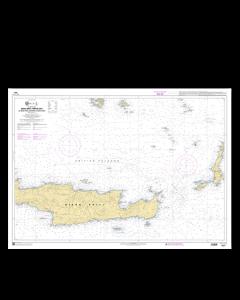 SHOM 7531L Nísos Krítí (Partie Est) - De Nísos Thíra (Santorin) à Nísos Kásos