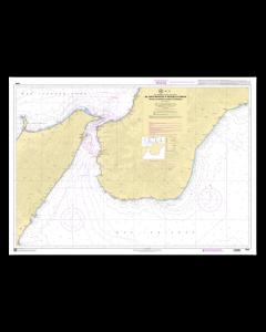 SHOM 7548L De Capo Milazzo à Rocella Ionica Détroit de Messina (Stretto di Messina)