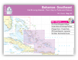 NV Chart Kit 9.3: Southeast Bahamas (Cat & Long Islands - Rum Cay to Turks and Caicos)