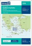 G33 Southern Cyclades (West Sheet)