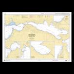 SHOM 7253 Golfe de Corinthe (Korinthiakós Kólpos) - Golfe de Pátras (Patraïkós Kólpos)