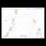 SHOM 7629 Petites Antilles - Partie Sud - De Saint Lucia à Grenada et Barbados