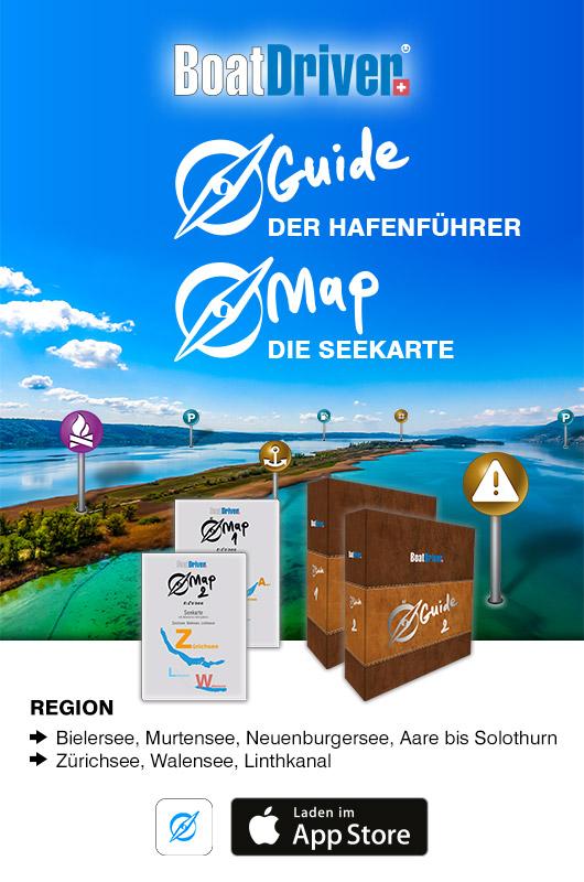 Hafenführer Seekarte - BoatDriver Guide BoatDriver Map