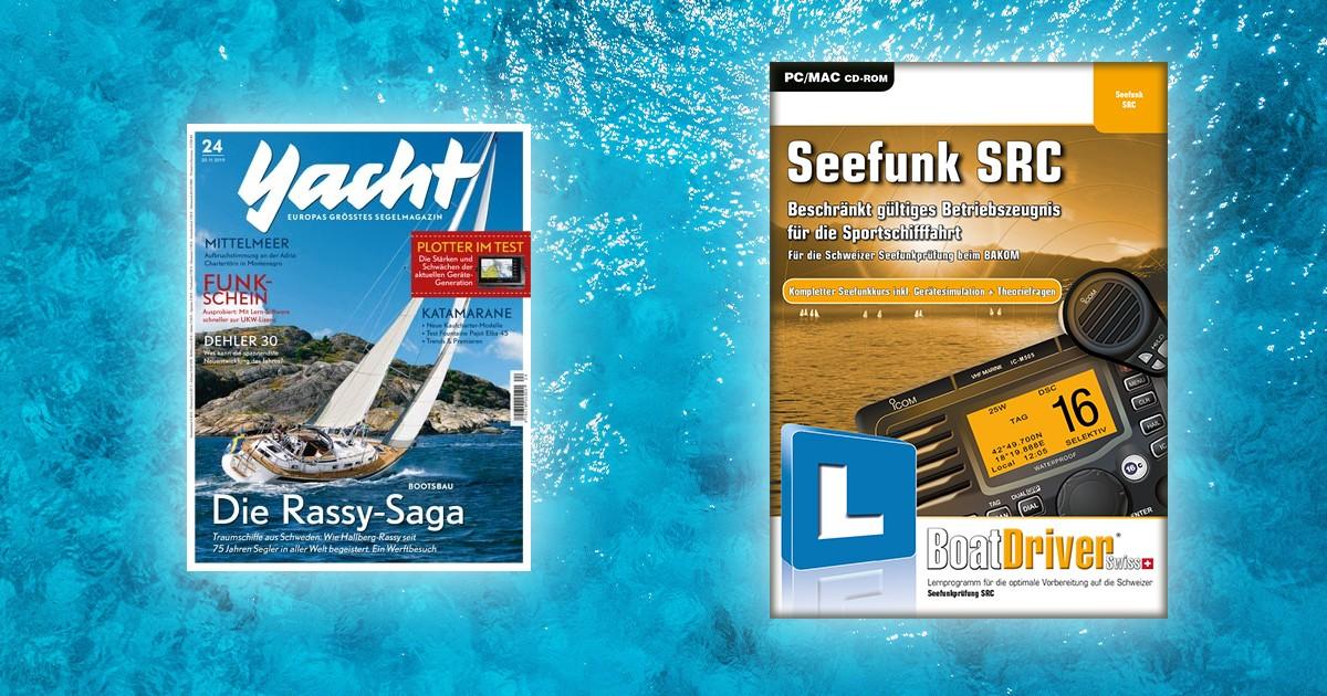 """Seefunk SRC - Empfohlen von """"Yacht"""""""