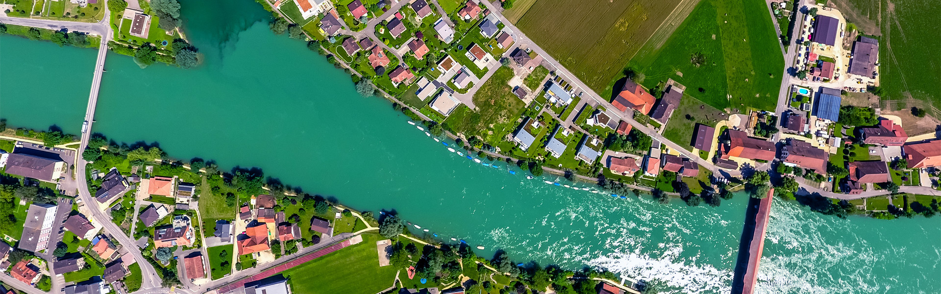 Bootsprüfung Aare bei Solothurn